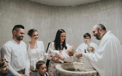 Fotografiranje svetega krsta